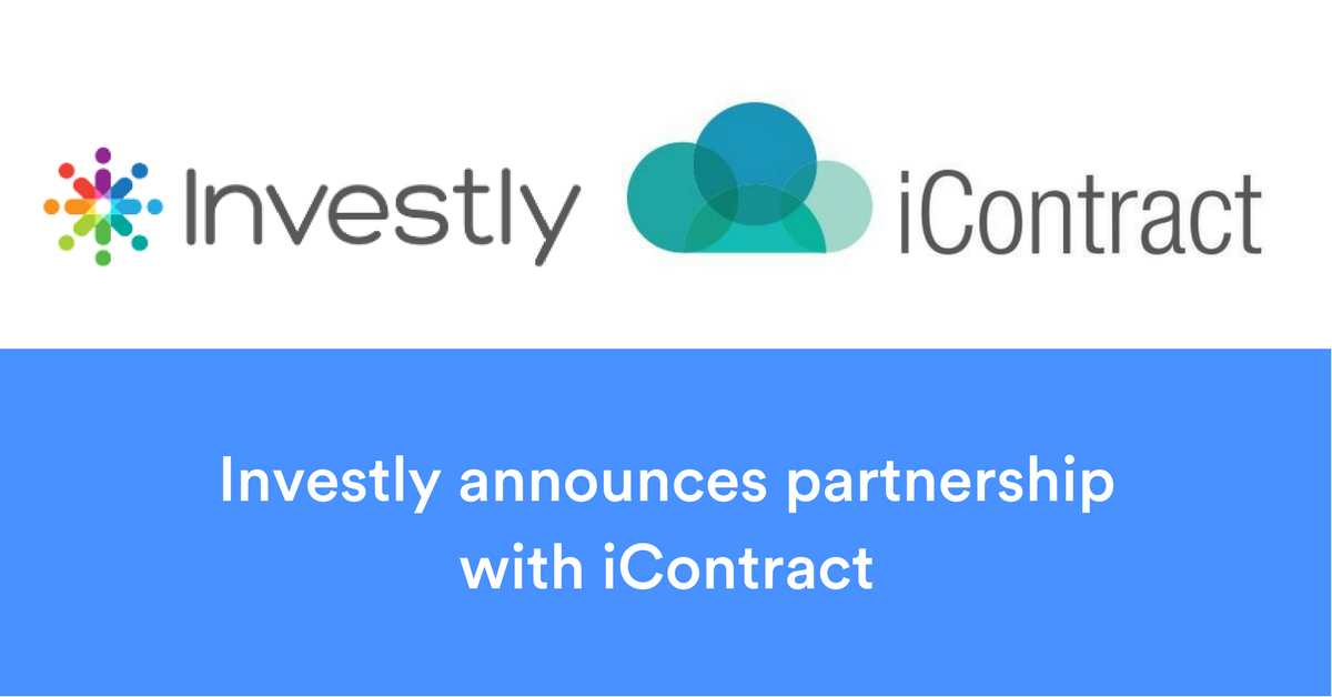 Investly announces partnership with iContract
