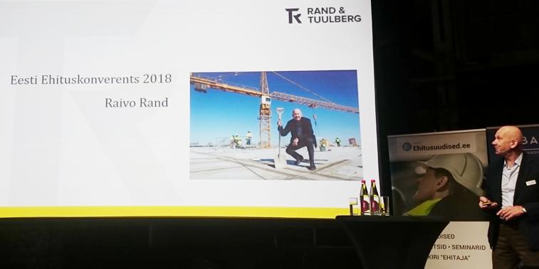 Raivo Rand ehituskonverentsil 2017