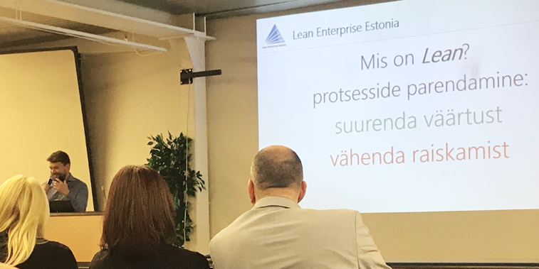 Lean Enterprise Estonia kaasasutaja Aleksandr Miina
