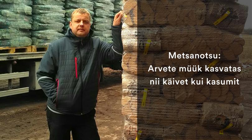 Metsanotsu:  Arvete müük kasvatas  nii käivet kui kasumit
