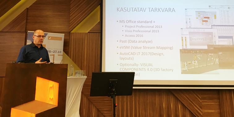 Virtuaalettevõte OÜ juhtimiskonsultant Marko Kokla Mööblitootjate konverentsil 2017